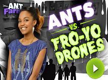 Ant Farm Ants Vs Froyo Drones