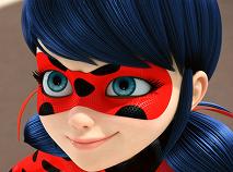 Ladybug Super Heroine Puzzle