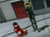 Ladybug and Cat Noir Adventure Puzzle