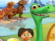 The Good Dinosaur Journey Home