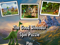 The Good Dinosaur Spin Puzzle