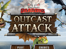 Dragons Riders of Berk Outcast Attack