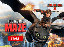 How to Train Your Dragon 2 The Maze