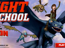 Dragons Riders of Berk Flight School