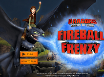 Dragons Riders of Berk Fireball Frenzy