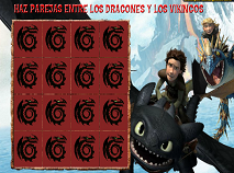 How To Train Your Dragons Memory Game