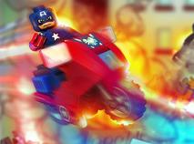 Capitanul America Lego