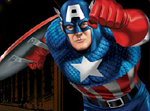 Capitanul America Vs Craniul Rosu