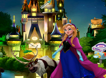 Castelul Frozen Obiecte Ascunse