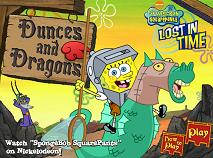 Spongebob Dances and Dragons