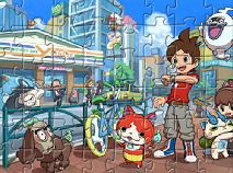 Ceasul Yo-Kai Puzzle