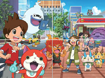 Yo-Kai Watch Sliding Puzzle