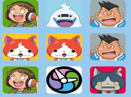 Yo-Kai Watch Memory Matching Game