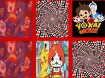 Ceasul Yo-Kai de Memorie cu Carti