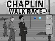 Charlie Chaplin Cursa pe Strada