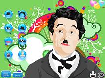 Charlie Chaplin de Imbracat