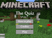 Minecraft The Quiz
