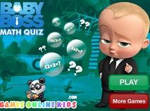 The Boss Baby Math Quiz