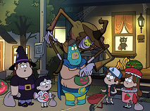 Gravity Falls Halloween Jigsaw