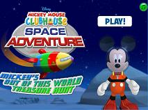 Clubul lui Mickey Mouse Aventura Spatiala