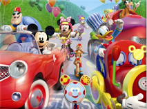 Mickey Mouse Clubhouse Road Rally Set the Blocks