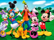 Clubul lui Mickey Mouse Jigsaw