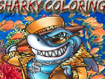 Colour the Shark