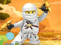 Coloreaza cu Lego Ninjago