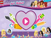 Lego Friends Art Maker