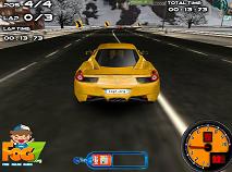 Curse de viteza 3d pe zapada