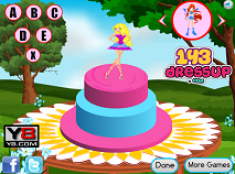 Winx Club Cake Decor