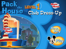 Mickey Mouse Club Decoration