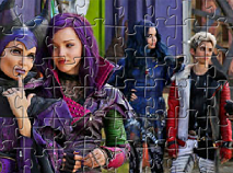 Descendants Puzzle Jigsaw