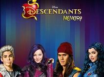 Descendants Memory Match