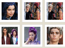 Descendants Memory Game