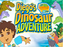Diego Aventura cu Dinozauri