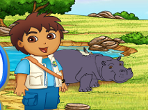 Diego Aventura cu Hipopotami