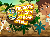 Diego Off-Road in Africa