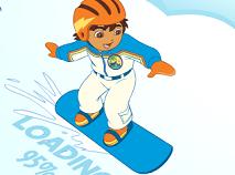 Diego pe Snowboard