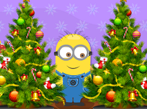 Minion Christmas Tree 6 Diff
