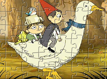 Wirt and Gregory Playing Puzzle