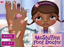 Doctorita Plusica Accident la Picior
