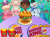 Doc McStuffins Hamburger