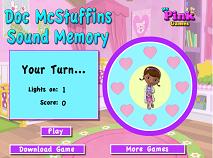 Doc McStuffins Music Memory