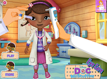 Doctorita Plusica la Oftalmolog