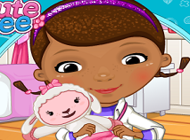 Doctorita Plusica si Lambie de Ingrijit