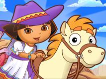 Dora Aventura cu Ponei