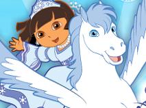 Dora si Printesa Zapezilor