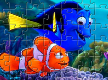 Finding Dory Characters Puzzle