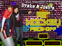 Drake and Josh Air Hockey Face Off